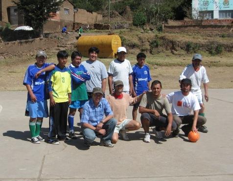 Fútbol contra los profesores